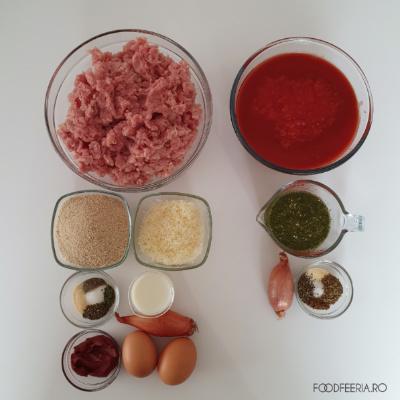 Ingrediente chiftele italienești